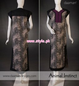 Daaman Latest Winter Arrivals 2012 For Women 002
