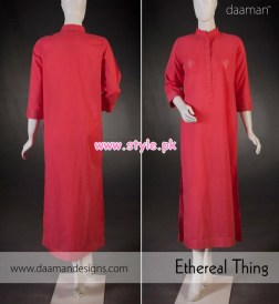 Daaman Latest Winter Arrivals 2012 For Women 004
