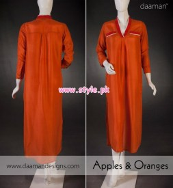 Daaman Latest Winter Arrivals 2012 For Women 005
