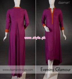 Daaman Latest Winter Arrivals 2012 For Women 006