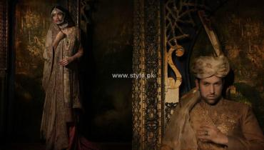 Fahad Hussayn Bridal Wear Collection 2012-13 for Women