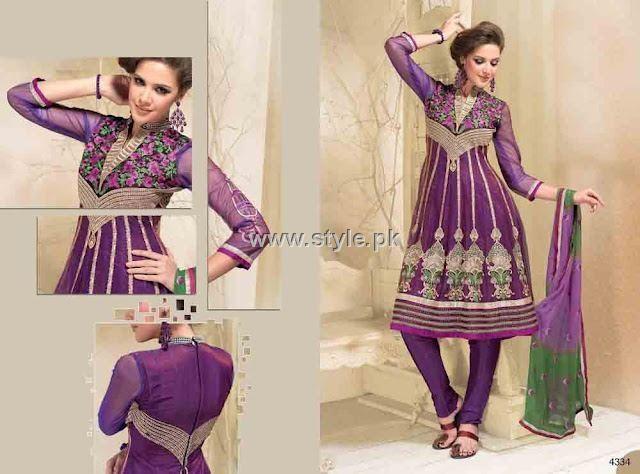 Formal Wear Anarkali Frocks Designs for Women