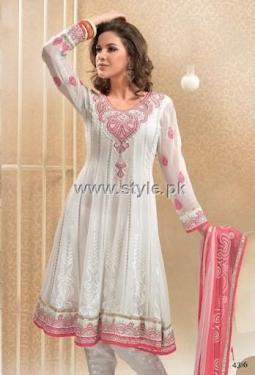 Formal Wear Anarkali Frocks Designs for Women 014