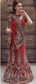 Latest Bridal Saree Trends 2012 For Women 003