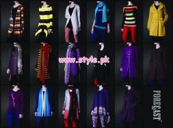 Latest Forecast Winter Casual Dresses For Men & Women 2012 008