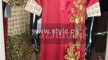 NazJunaid Fall Winter Collection 2012-13 for Ladies