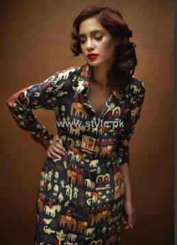 Sania Maskatiya Casual Dresses 2012 for Ladies 005