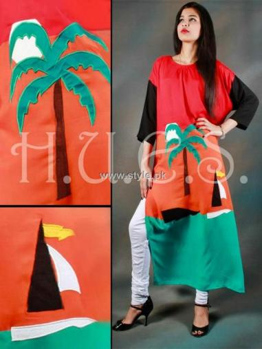 HUES Winter 2012-13 Dresses for Women and Girls 012