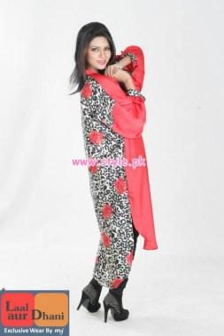Laal Aur Dhani Latest Winter Collection For Women 2012-13 007