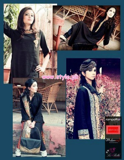 Latest Winter Casual Dresses By Abraaj 2013 015