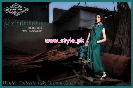 Latest Yasmin Zaman Winter 2012 Collection For Women 002