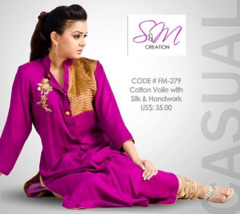 S&M Creations Winter Collection 2012-2013 For Women 009