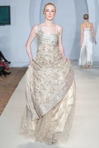 Sadia Mirza Formal Wear Collection 2012-2013 At PFW 3, London 001