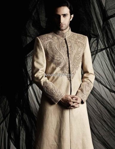 Designs of Sherwani for Men 2013 011