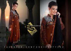 Eddiez Stylez Party Wear Collection 2013 for Women 005