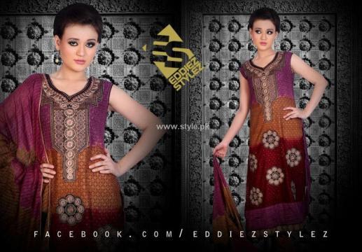 Eddiez Stylez Party Wear Collection 2013 for Women 006
