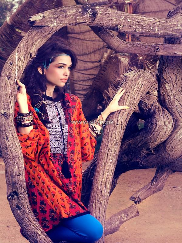 Khaadi Casual Wear Dresses 2013 for Girls and Women