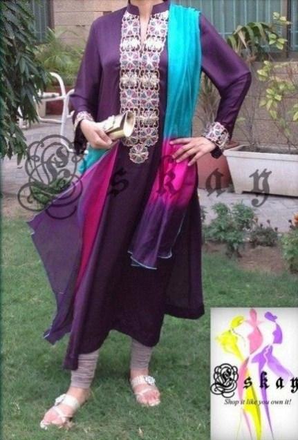 Eskay Semi-Formal Wear Collection 2013 For Women 008