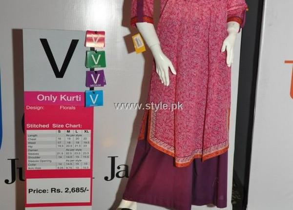Junaid Jamshed Lawn 2013 for Women