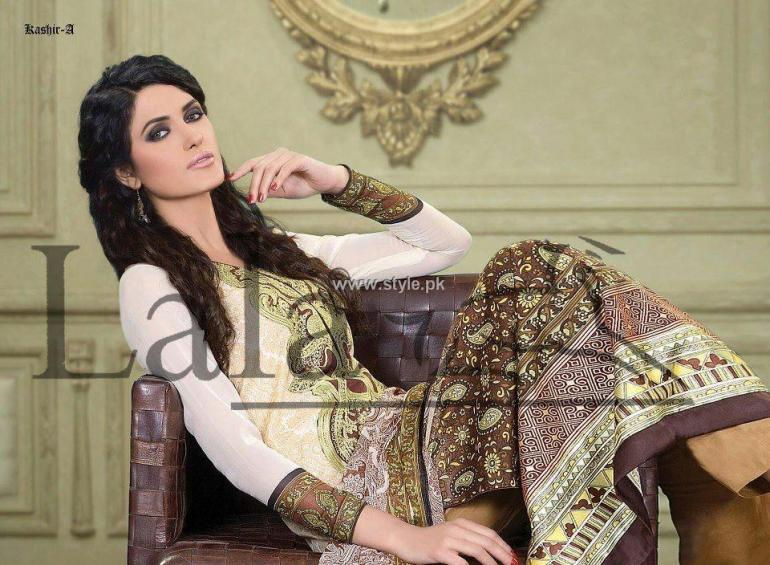 Sana & Samia Celebre Lawn Collection 2013 by Lala