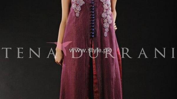 Tena Durrani Party Wear Dresses 2013 for Women