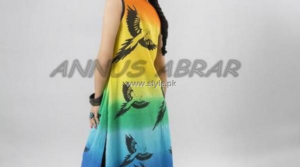 Annus Abrar Spring Summer Collection 2013 for Women