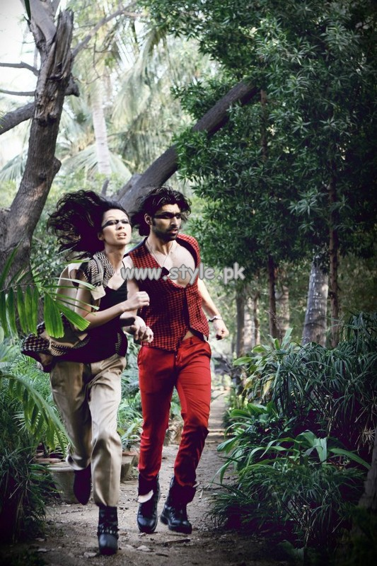 Deepak And Fahad Western Wear Collection 2013 007
