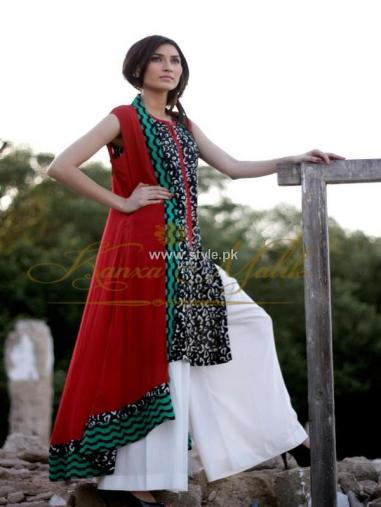 Kanxa Malik Summer Collection 2013 for Girls 010