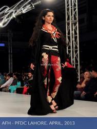 Ayesha F Hashwani at PSFW 2013-Quite Western 003