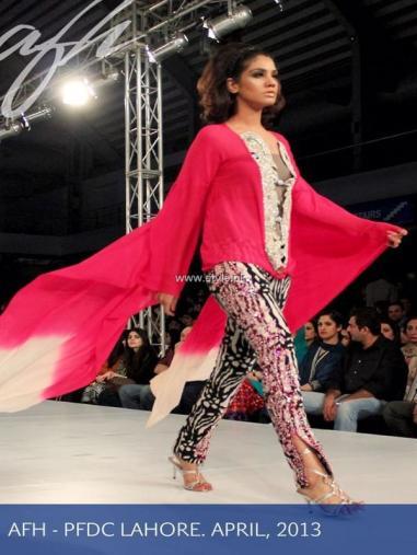 Ayesha F Hashwani at PSFW 2013-Quite Western 012