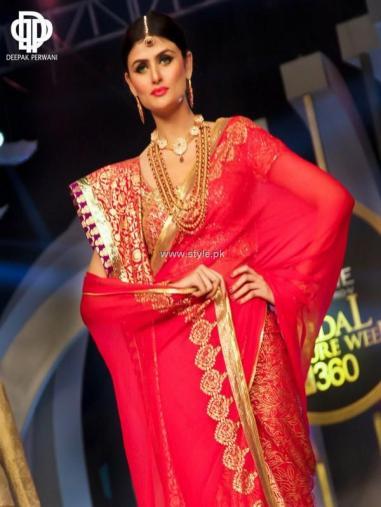 Deepak Perwani Bridal Collection at BCW 2013 002