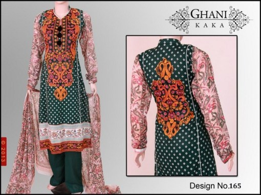 Ghani Textile Spring collection 2013 For Women 0011