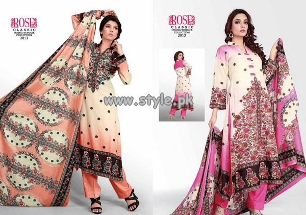 Jubilee Cloth Mills Rose Classic Lawn Collection 2013 012