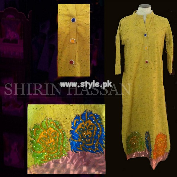 Shirin Hassan Summer Collection For Women 2013 006
