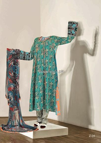 Zebai Lawn Collection 2013 by Mahmood Group for Women