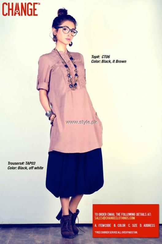 Change Casual Wear Collection 2013 for Girls
