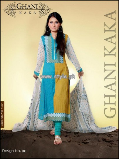 Ghani Textile New Arrivals For Summer 2013 002