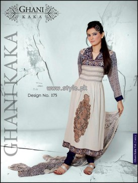Ghani Textile New Dresses For Summer 2013 008