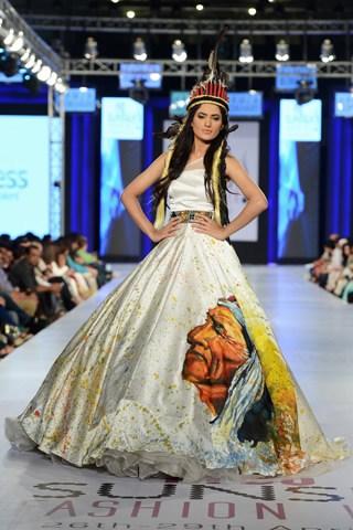 Hamza Bokhari Collection At PFDC Sunsilk Fashion Week 2013 004