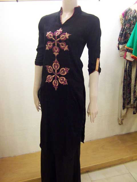 Laal Aur Dhani Party Wear Collection 2013 For Women 001