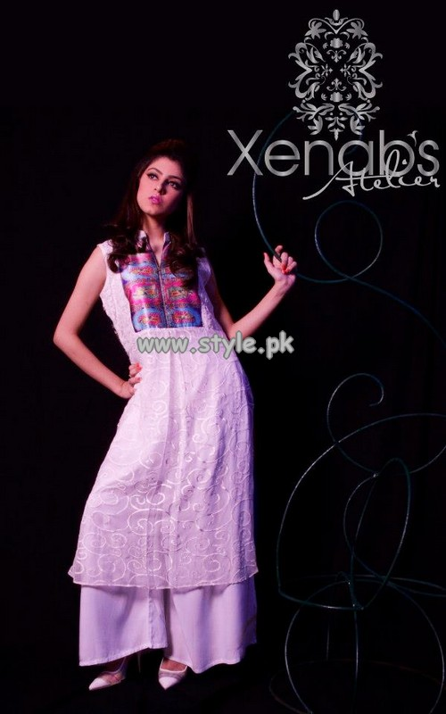 Xenab's Atelier Party Wear Collection 2013 For Summer 002