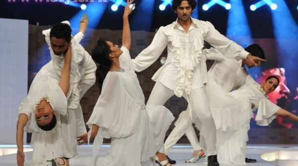 Aamina Sheikh and Mohib At Lux Style Awards 2011