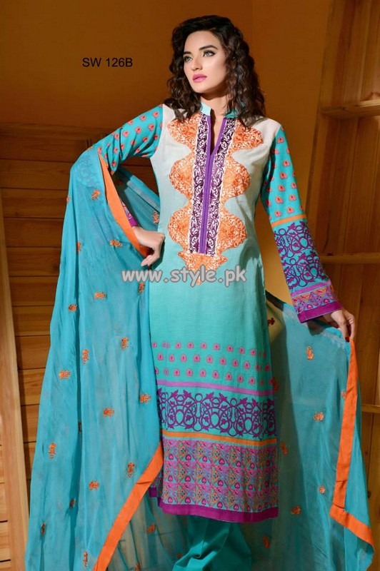 Charizma Eid Collection 2013 For Girls 004