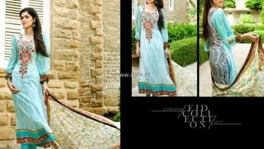 Hannah Limited Eid Collection 2013 by Z.S. Textiles