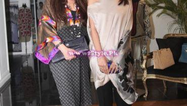 Safinaz Muneer and Sana Hashwani - Sana Safinaz - Lahore Flagship Store
