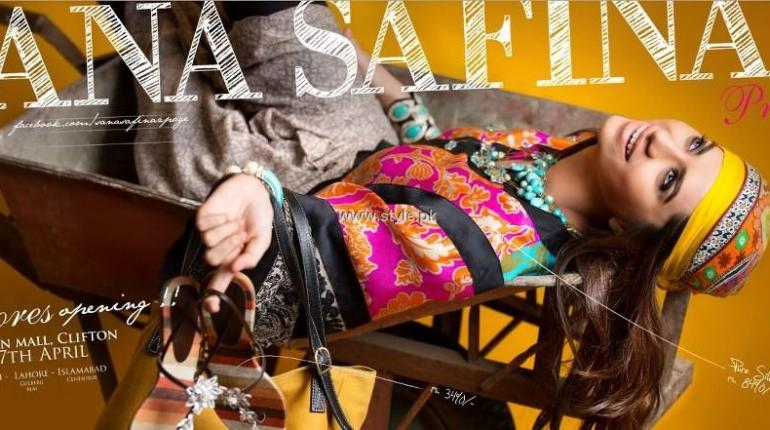 Sana Safinaz Pret Collection 2013 for Women