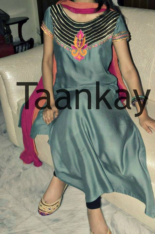 Taankay Eid Collection 2013 For Women 0013