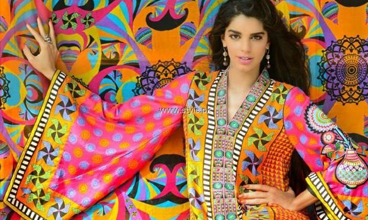 Wardha Saleem Lawn 2013 by Shariq Textiles for Women