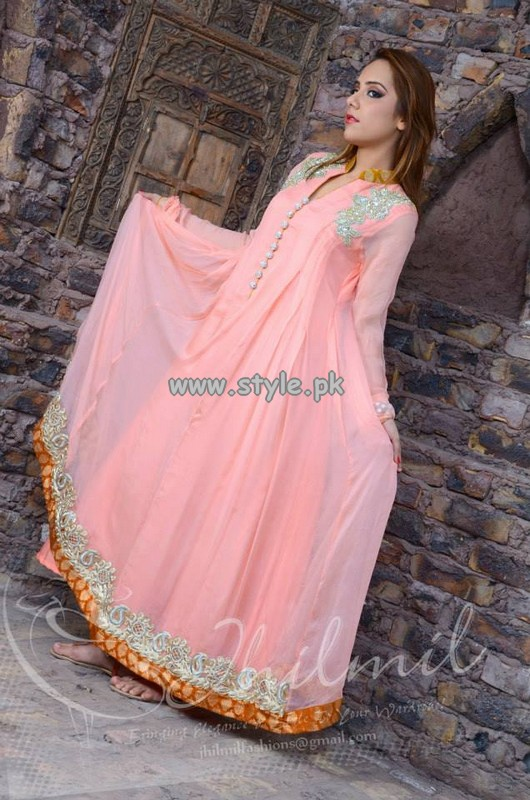 Jhilmil Party Wear Dresses 2013 For Summer 007
