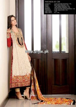 Jubilee Cloth Mills Eid Collection 2013 For Women 006